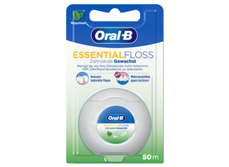 Oral-B Essentialfloss gewachst